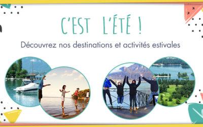 Destinations & activités estivales