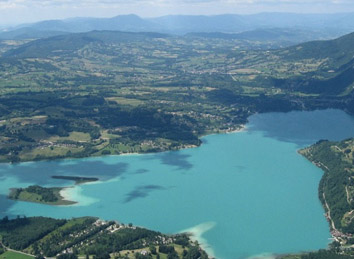 Lac d'Aiguebelette - Team building