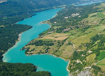 Lac de Monteynard - Team building