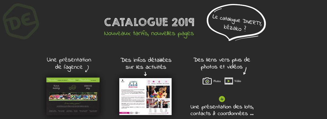 Catalogue 2019 DIVERTY events