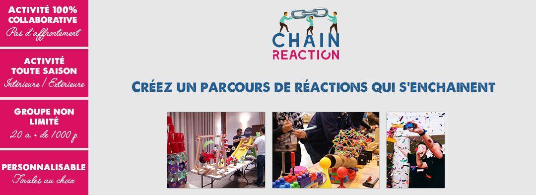 Chain Reaction : team building collaboratif