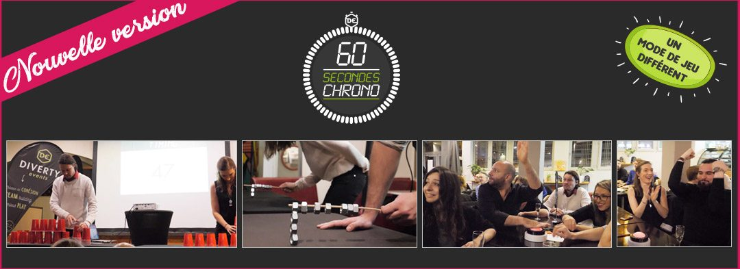 60 secondes chrono : nouvelle version