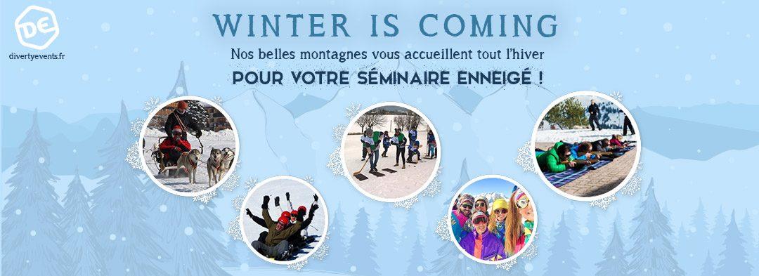 Winter Games - Séminaire montagne