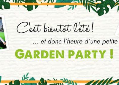 Cet été, testez la Garden Party !
