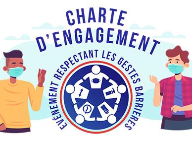 Charte d'engagement aux gestes barrières