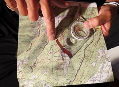 Course d'orientation pour entreprises en Rhône-Alpes