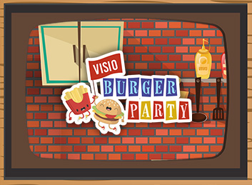 Visio burger party