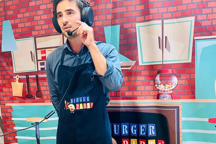 Activité en visioconférence : Burger Party