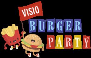 Logo Visio burger party