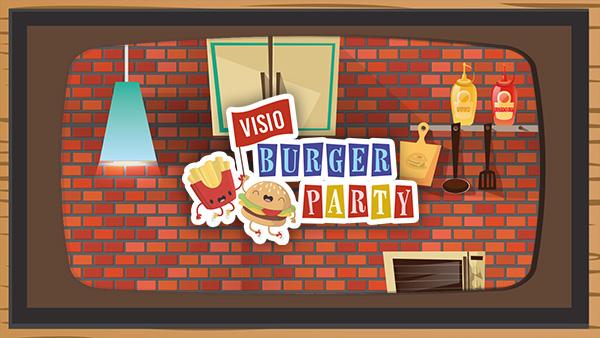 Visio burger party