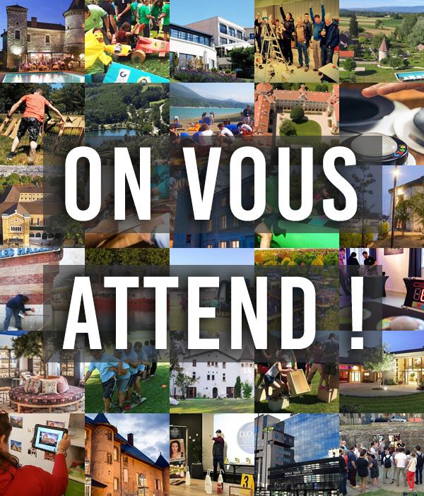 Activités team building en Auvergne Rhône-Alpes