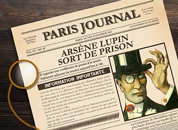 Visio Escape Arsène Lupin