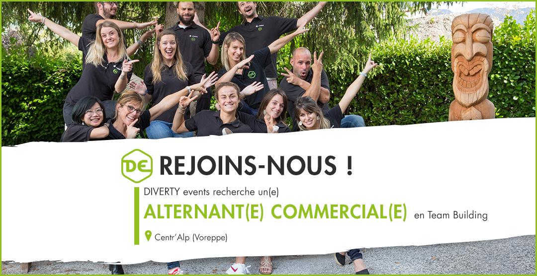 Alternance commercial team building