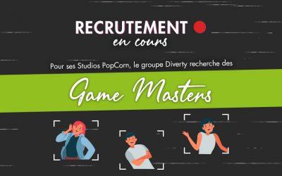 Recrutement de Game Masters
